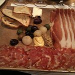 Petite Platter with Nancy's camembert, speck, and salami