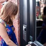The Inn's keyless entry and intercom system allows guests to go directly to their room with a ke