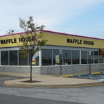 Exterior of Middletown Waffle House