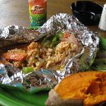 A delicious Bahamian meal!