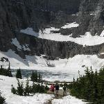 Iceberg Lake - at the end of the trail