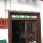 mayur restaurant old mission rd manali
