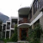 hotel balcony facing  mountain view