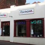 Outside Epicentre, on Torquay Road.