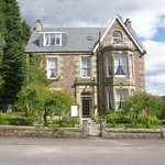 Annfield Guest house quietly situated in the centre of Callander