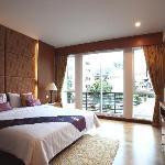 Royal Suite's bedroom