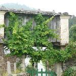 paisaje idílico asturiano ya sabor gallego
