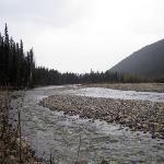 Tetsa River, next to the lodging area