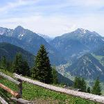 Typical Wanderweg view near Mayrhofen
