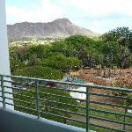 Room 710 lanai view.