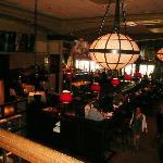 The bar that doubles as restaurant, bar, breakfast room etc