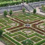 Gardens in Villandry