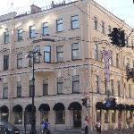 face rénovée de l'hôtel