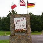 Eckard's Sign on VA Rte. 3 (Greys Point Rd.)