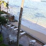 Beach and lounges