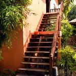 Phangan Paragon stairs