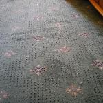 Burnt (??) carpet