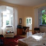 Zimmer mit Turmerker