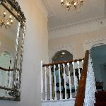 Stairway and upper landing