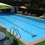 Pool in hotel Emitage