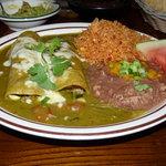 Pork & veggie enchiladas - mucho delicious!