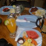 herlig morgenmad på min teresse