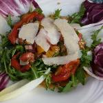 Amazing salad at Touch of Venice