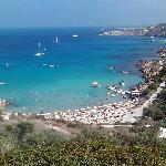 View of Konos Bay from Grecian Park