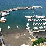 Overlooking the Marina Piccola