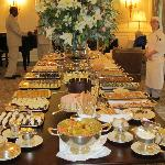 Afternoon tea at Mount Nelson