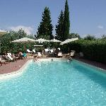 Inviting Pool Area - Le Torri