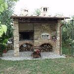 BBQ area - Le Torri