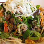 glass noodles with beef salad