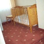 My 'single' room (cot)