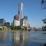 View down the Yarra River