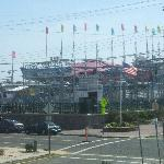 amusement park across the street