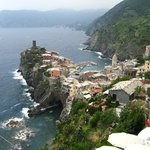 Vernazza seen from the hiking trail