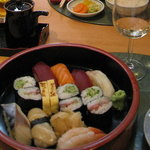 Sushi (as part of set lunch 23,5£)