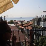Bosporus as seen from the roof