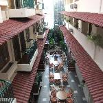 Inner square at Surya Asia hotel