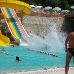 Hotel's aqua park