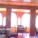 dinning room of hotel kinner kailash