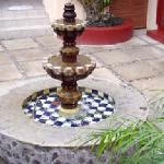 Fountain, from the patio just outside Oaxaca Suite