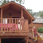 1 room camper cabin