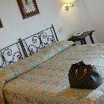 Hotelzimmer-Schlafbereich
