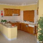Kitchen Area of Apartment