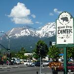View of Mt. Shasta from Diner
