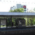 Blick vom Bahnsteig aus