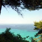 view of the Gulf of Halkidiki from the hotel