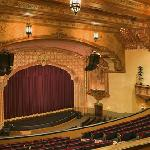 Bob Hope Theatre Stage from the Balcony. Photo by WMB Architects